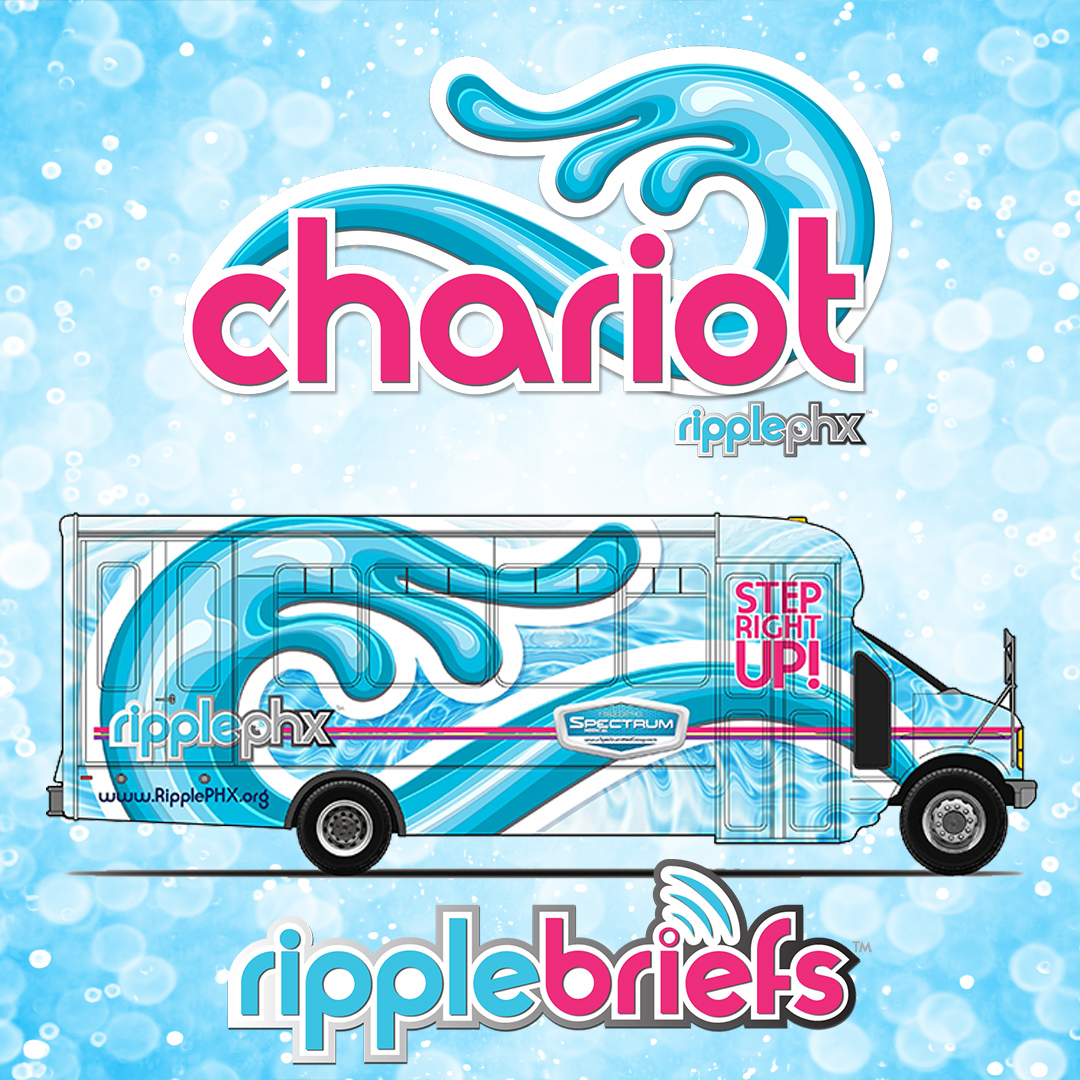 WELCOME ABOARD THE CHARIOT!