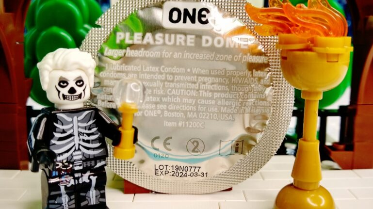 CONDOM OF THE WEEK:  ONE PLEASURE DOME